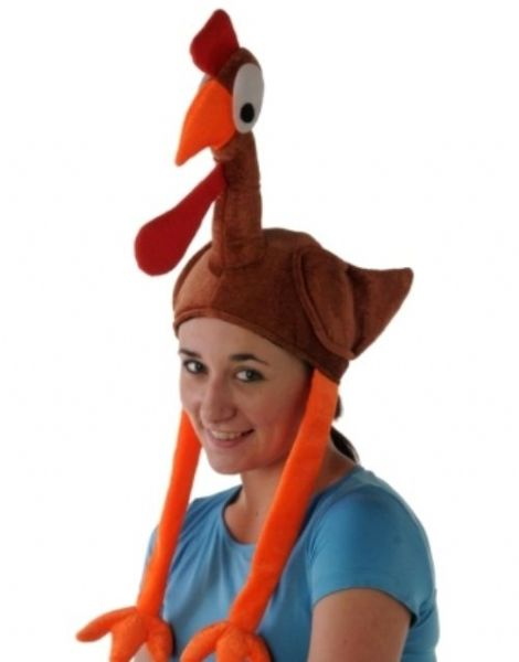 Animal Flying Turkey Hat With Legs & Win Nature Zoo Wildlife Book Week